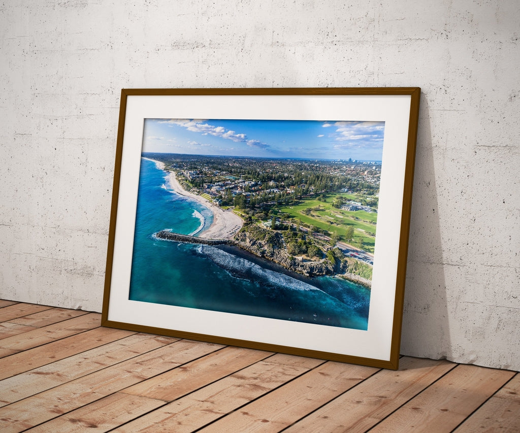 Cottesloe views wall art print wall decor perth western australia am photo