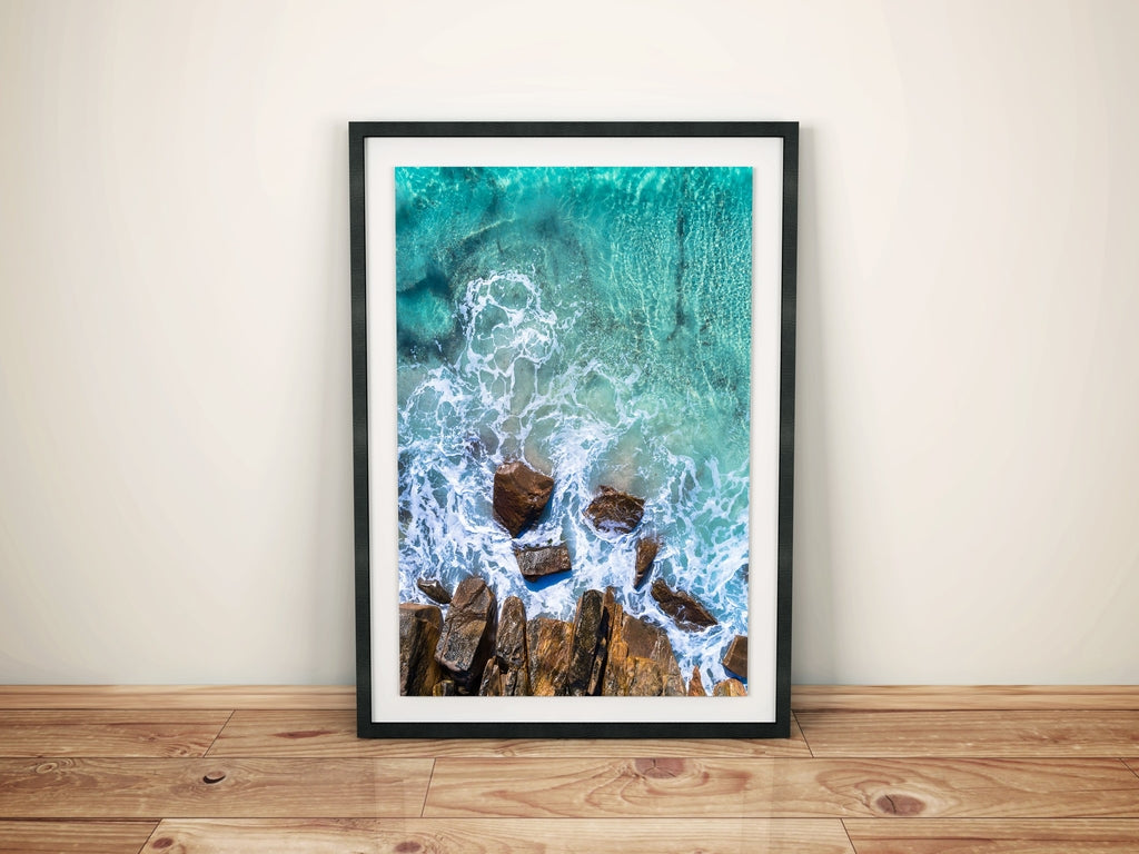 Meelup beach western australia wall art canvas prints am photo co