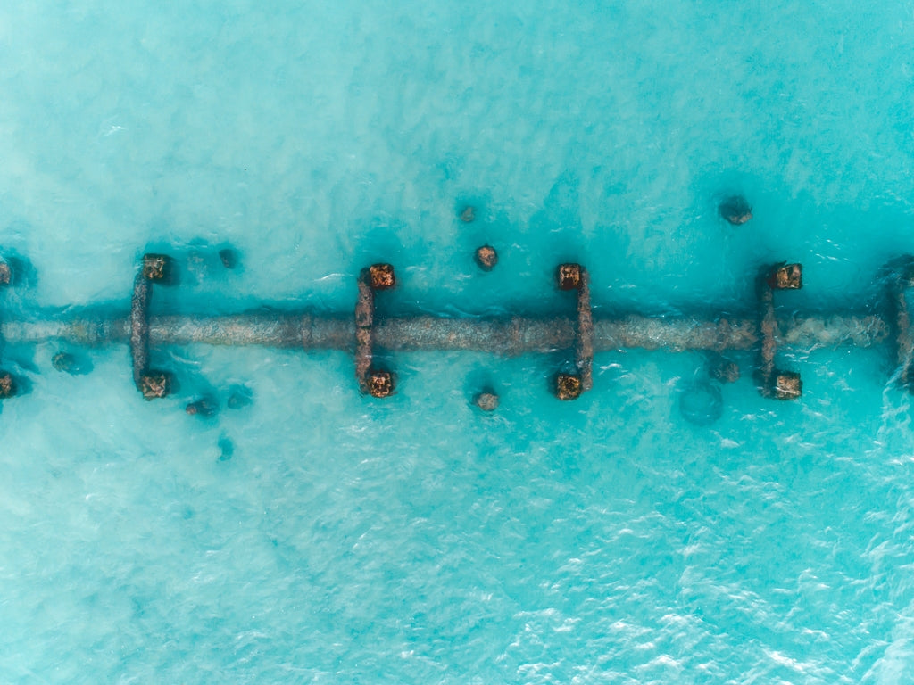 Robbs Jetty | Aerial Photography Western Australia | AM Photo Co