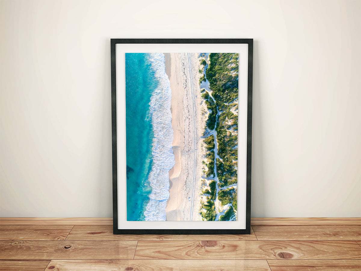 Shorehaven beach alkimos western australia wall art prints canvas prints