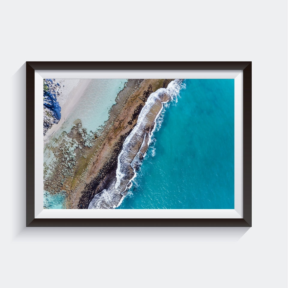 Yanchep Lagoo, Western Australia, Wall Art Print, Canvas Print, Aerial Photography, AM Photo Co