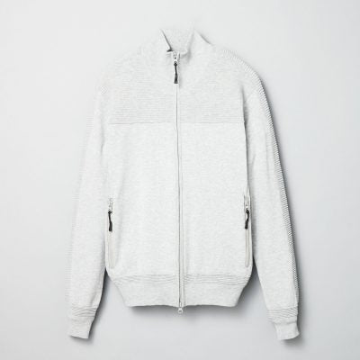 Dry Cotton Tucking FZ Blouson