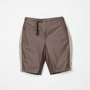 Coating / Mesh Rap Short Pants