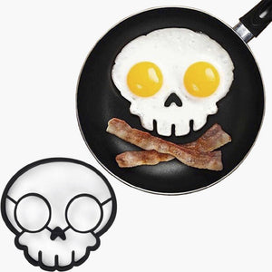 Silicone Skull Egg Mold Shaped Tool Mould Main non-stick Rubber Baking Kitchen Tool Gadget