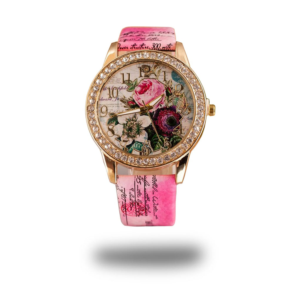 rose flower watch chinese style luxury woman women new hot 2018 cheap