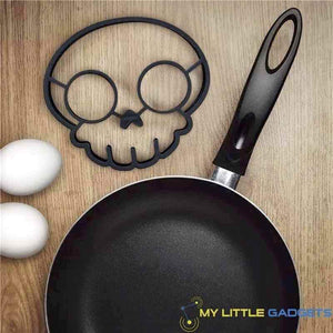 Silicone Skull Egg Mold Shaped Tool Mould non-stick Rubber Pan Baking Kitchen Tool Gadget