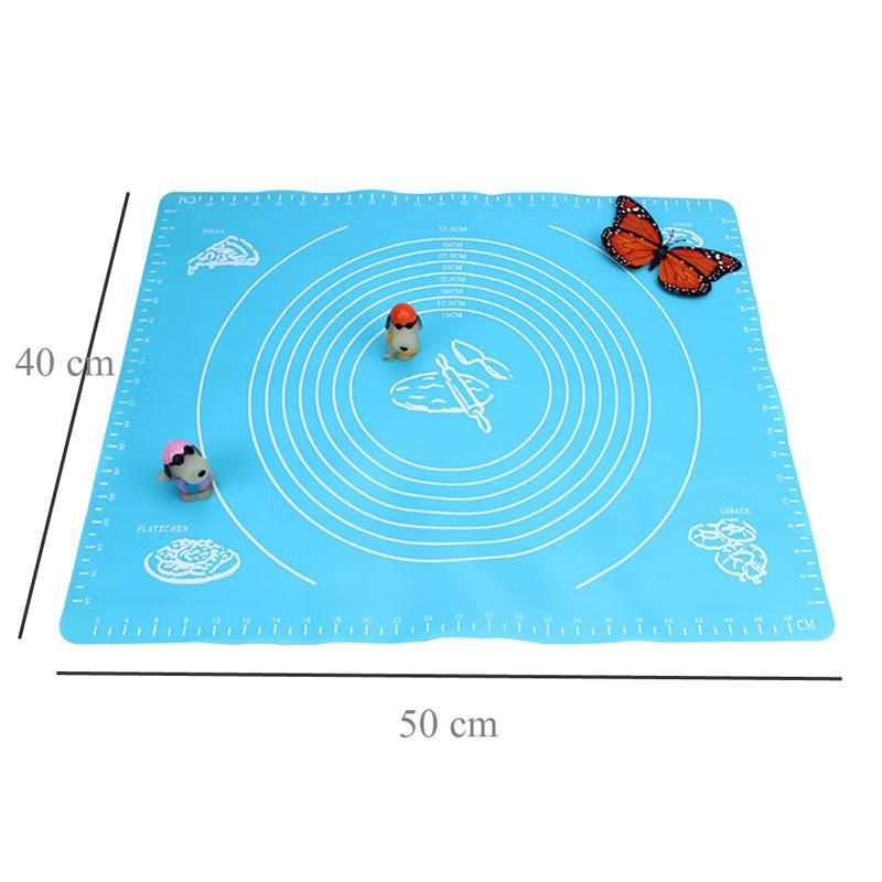 50*40cm Silicone Baking Mat Cakes Pans Non-Stick Table Grill Pad Jelly Fondant Cooking Plate Target