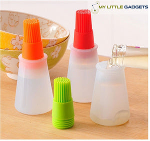 Silicone Grill Oil Brush Liquid  Pen Bottle for Barbecue BBQ Cake Bread Pastry Baking Utensil tip