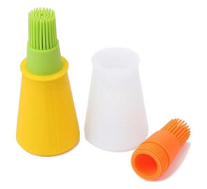 Silicone Grill Oil Brush Liquid  Pen Bottle for Barbecue BBQ Cake Bread Pastry Baking Utensil