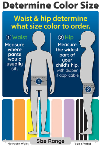 Determine Color Size / Pants for Peanuts