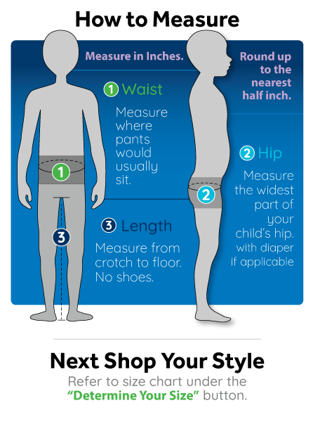 How to Measure Your Child for Our Ageless Sizing / Pants for Peanuts