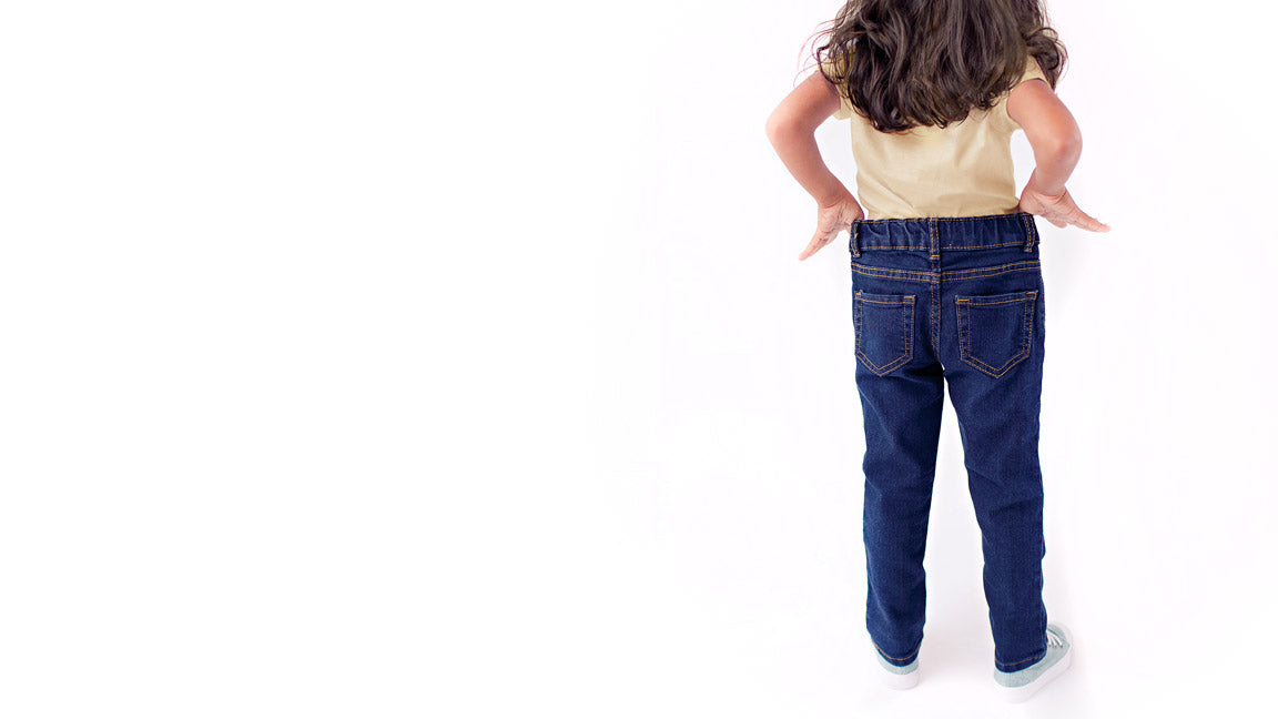 Loose Pants on Skinny Toddler / Pants for Peanuts