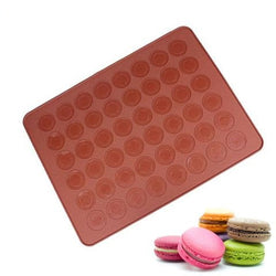 Silicon 48 Hole Macaron Baking Mat Pastry Cake Nonstick Baking Sheet Mold