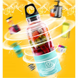 500ml Portable Mini Fruit Juicer Smoothie Blender