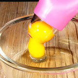 Silicon Egg Separator For White/Yolk Dividing
