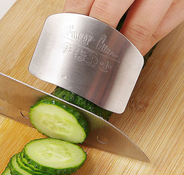 Stainless Steel Finger Protector Guard Kitchen Tool