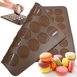 Double Sided Silicon Baking Mat Macaron Baking Mold 30 & 48 Holes