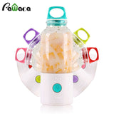 Portable Mini 700ml USB Rechargeable Fruit Juicer Blender Water Bottle