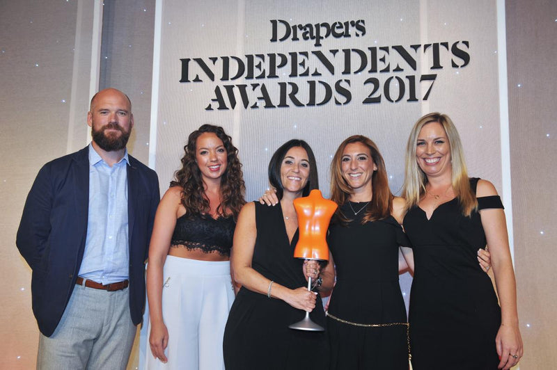 DressWise Named Young Fashion Independent of the Year!