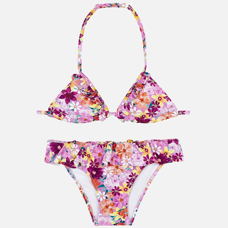 Mayoral Print Triangle Bikini