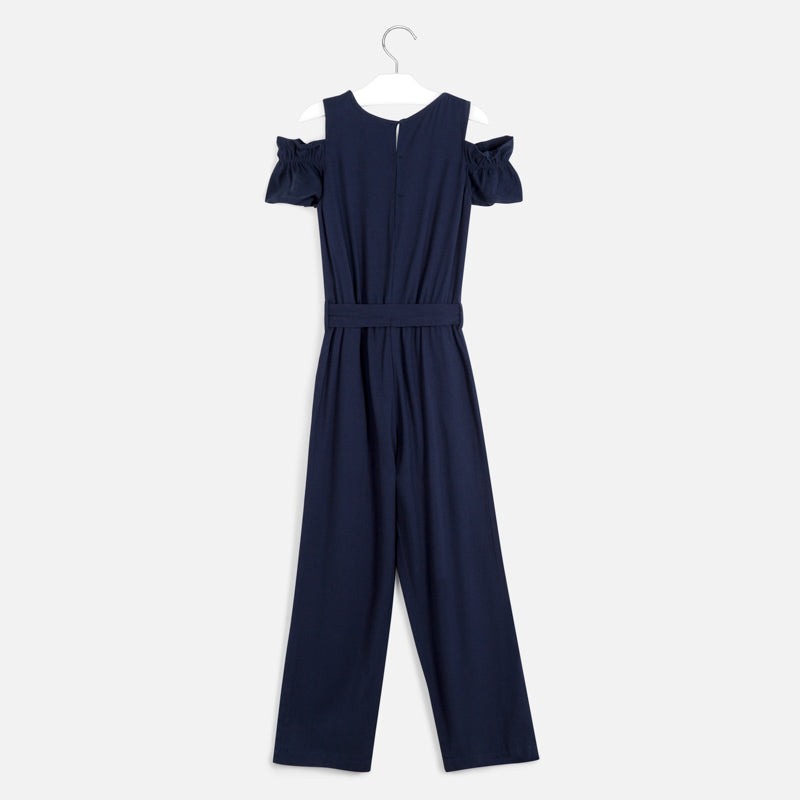 Mayoral Long Pique Jumpsuit