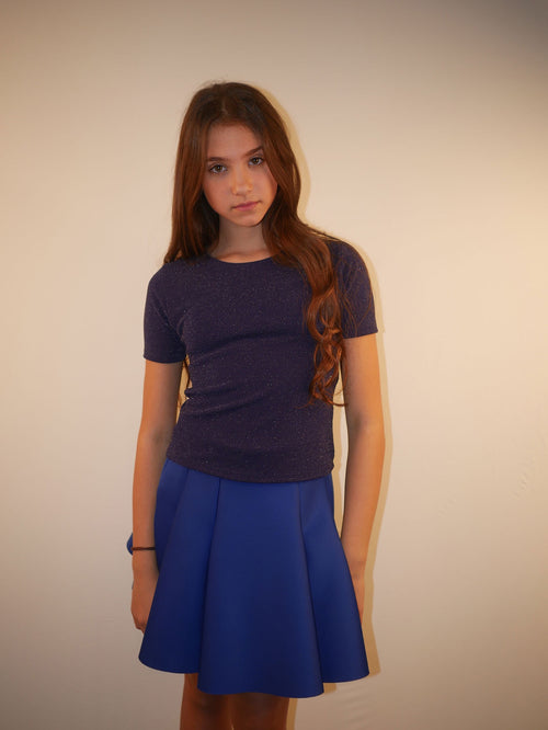 Cheryl Kids Lurex Top
