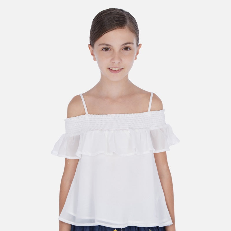 Mayoral Ruffled Blouse