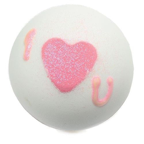 Bath Bomb Blaster Heart That Glitters