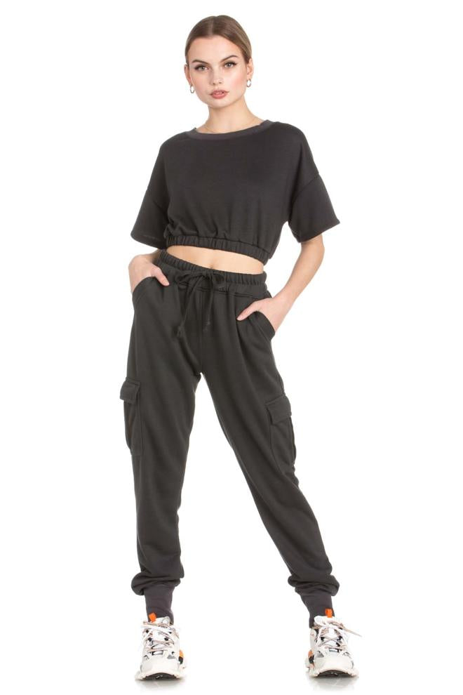 Dance & Marvel Knit Cargo Jogger Pants