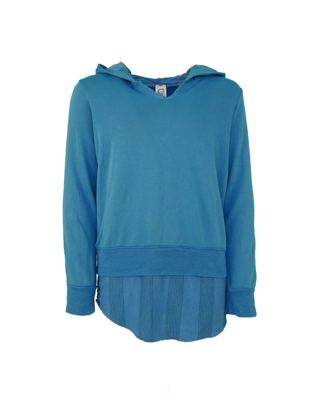 Fleece Combo Hoody