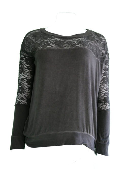 Top With Lace and Welt