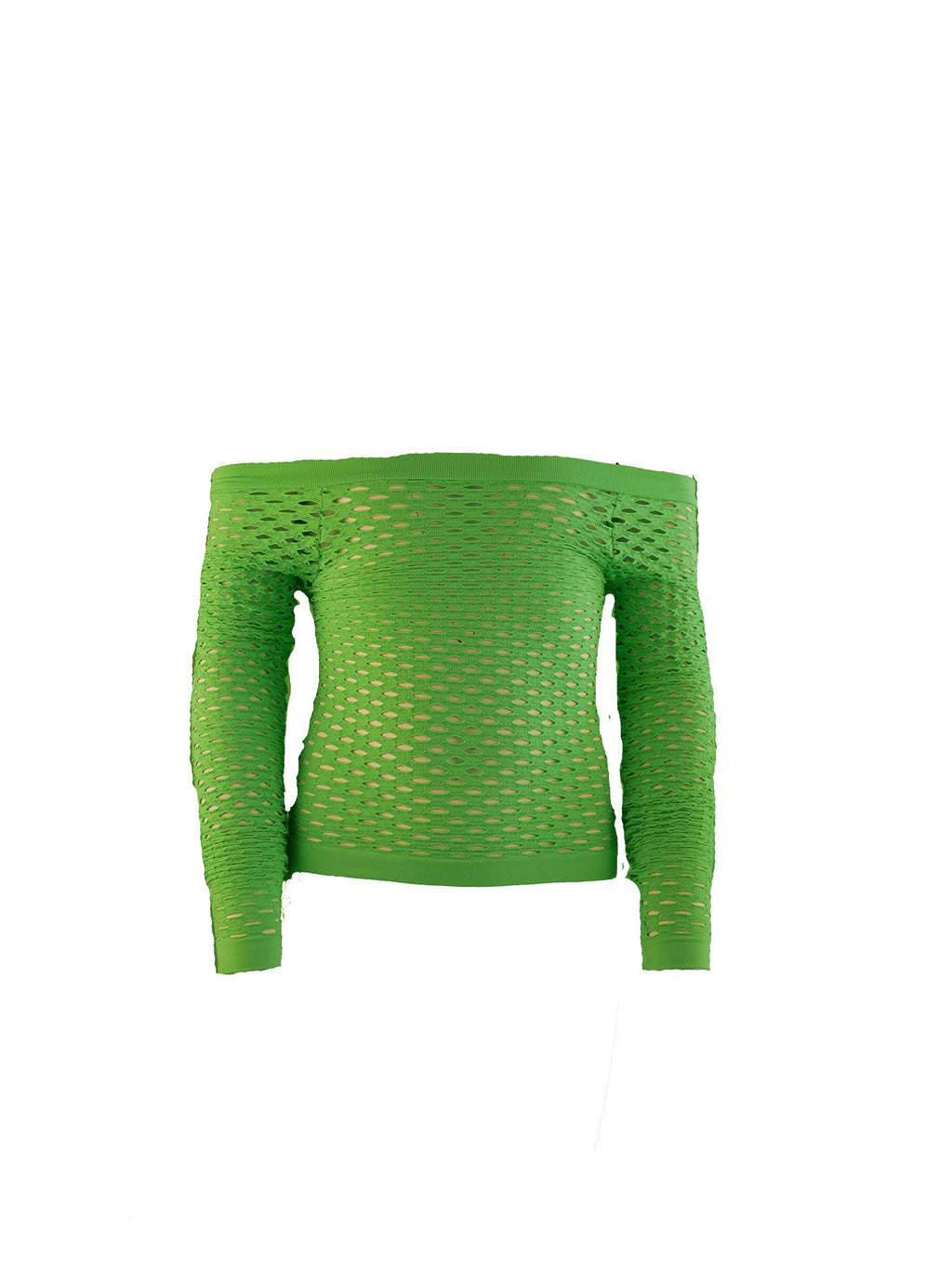 Long Sleeve Long Mesh Top