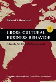Cross-cultural business behavior: a guide for global management