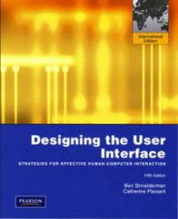 Designing the User Interface: Strategies for Effective Human-Computer Interac…