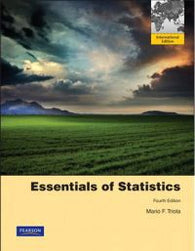Essentials of Statistics: International Edition