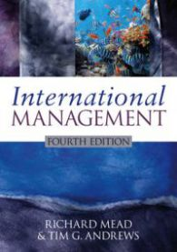International Management: Culture and Beyond
