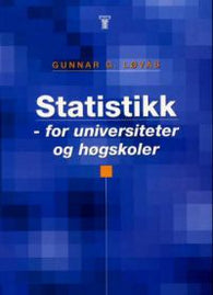 Statistikk: for universiteter og høgskoler