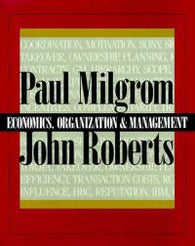 The Economics, Organization and Management