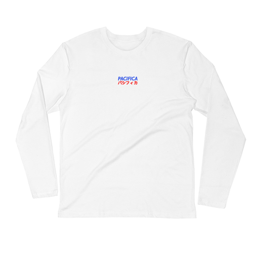 Pashifika White Long Sleeve Tee