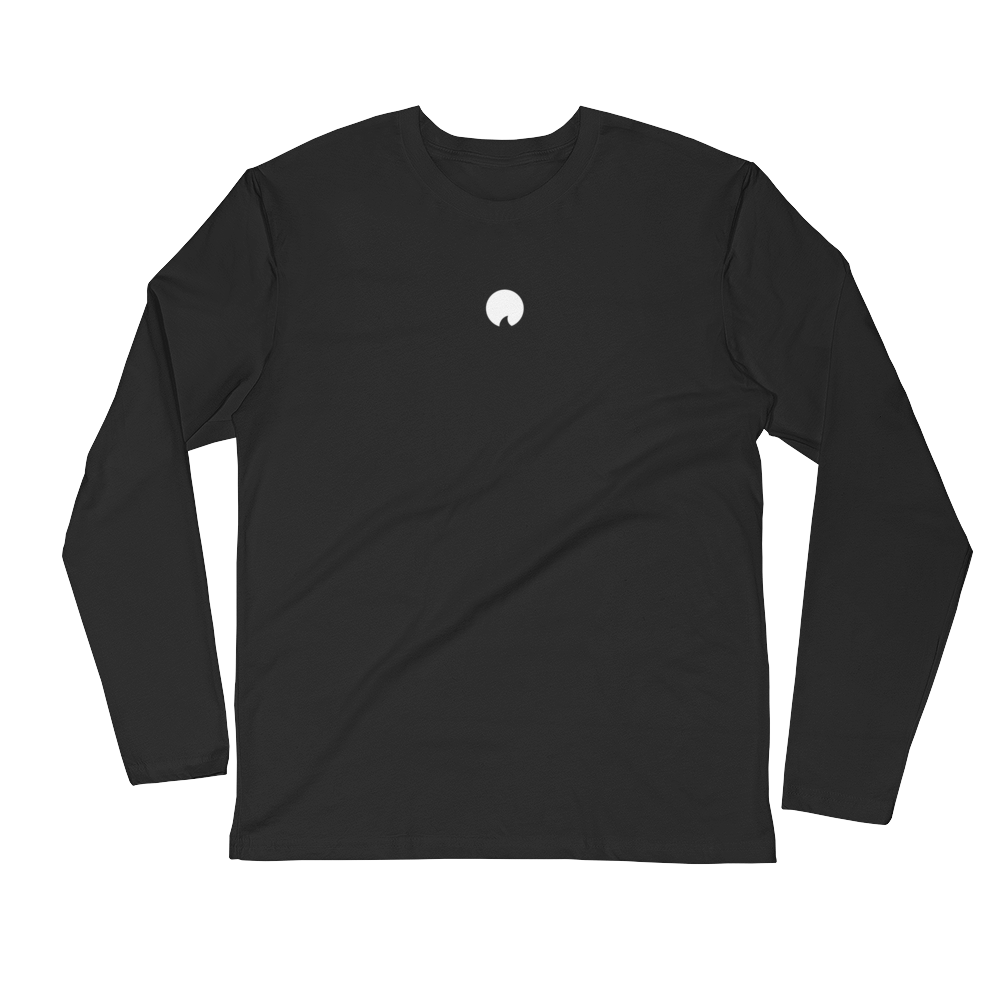 Tidal Black Long Sleeve Tee
