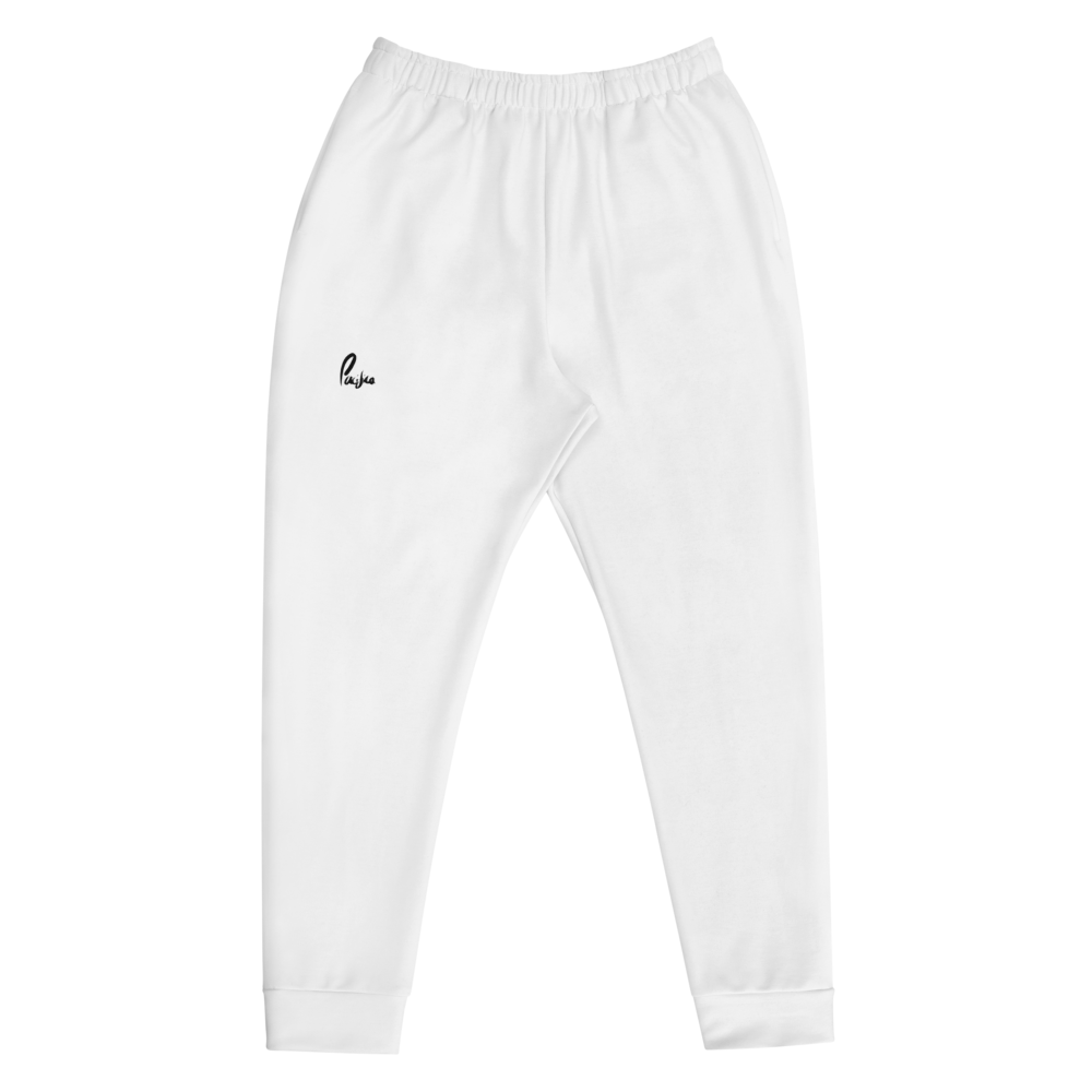 Classic White Joggers
