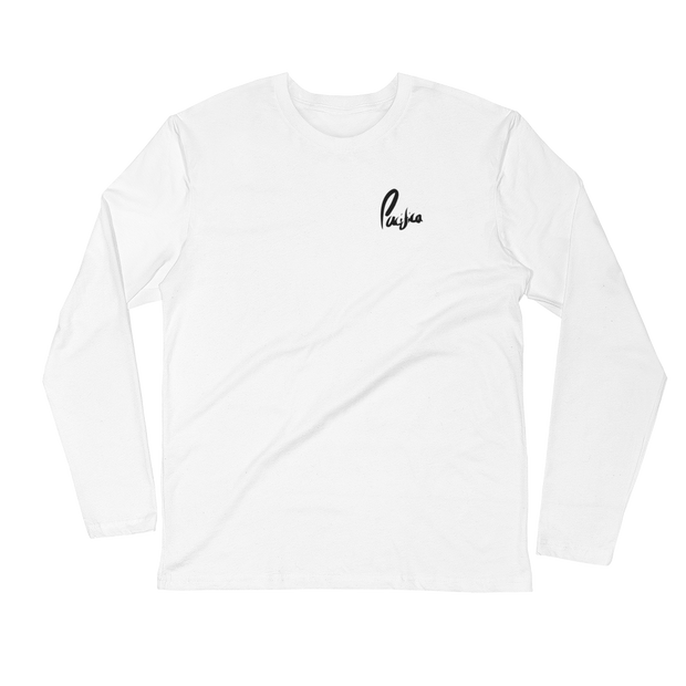 Pacifica Long Sleeve Tee (White)