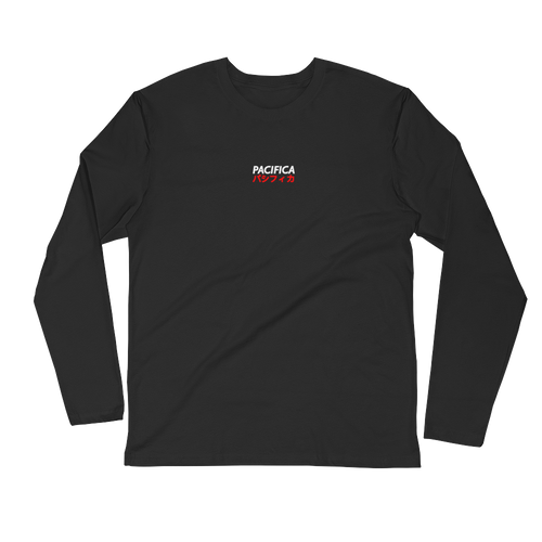 Pashifika Black Long Sleeve Tee