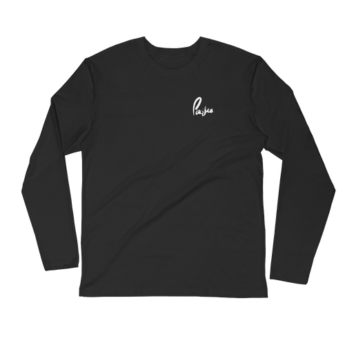 Pacifica Long Sleeve Tee (Black)