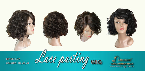 LVY Lace Parting wig