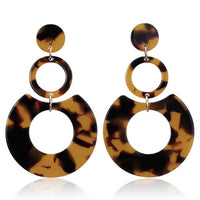 Leopard Collection Round About Earrings