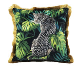 Jungle Love Velvet Pillow