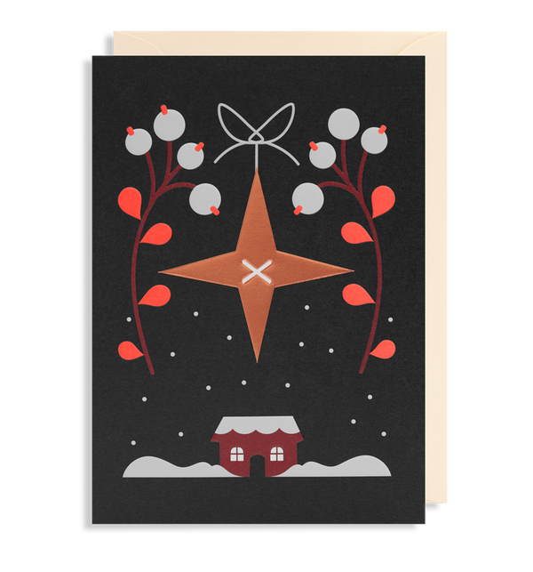 Copper Star Christmas