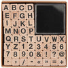Sans Serif Alphabet Stamp Set