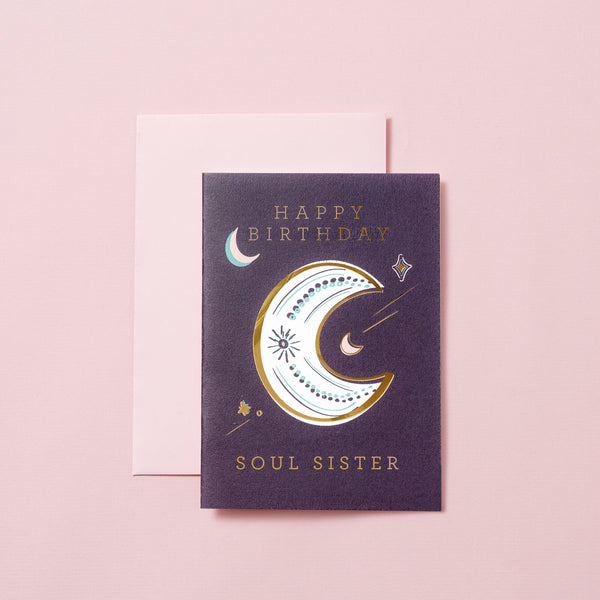 Happy Birthday Soul Sister - Purple